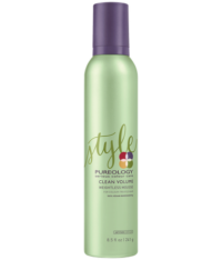 Pureology-Clean-Volume-Weightless-Mousse-241g-Retail-Front-884486341198-1.png